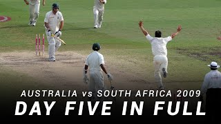LIVE Flashback: Australia v South Africa | Day 5, Sydney Test 2009