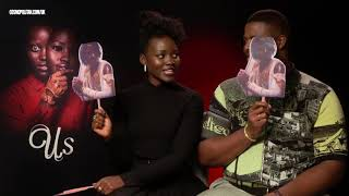 'Us' stars Lupita Nyong'o and Winston Duke on how they became 'creepy' for the film