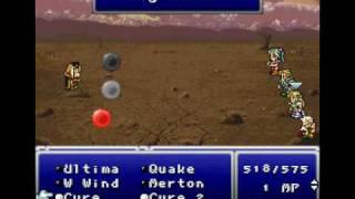 Final Fantasy VI Rom Hack: Emperor Gestahl (defeated)