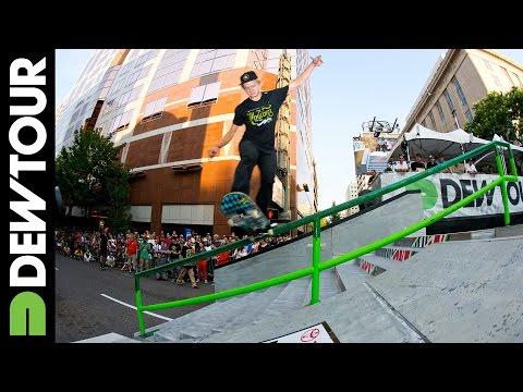 Skate Street Best Trick Highlights, 2014 Dew Tour Toyota City Championships Portland, Oregon