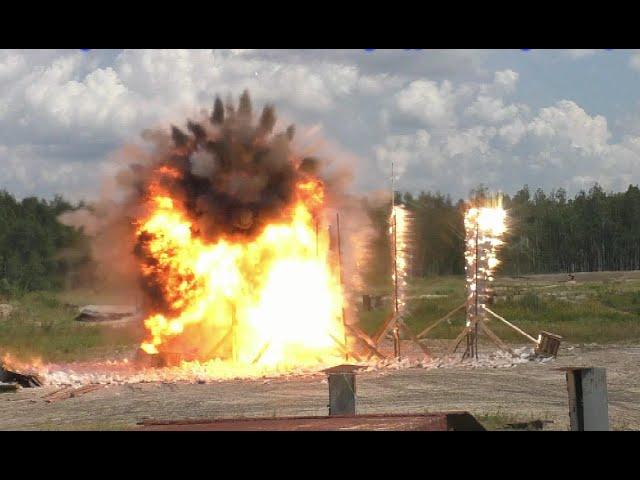 BUK producer conducts test blast during MH17 crash investigation