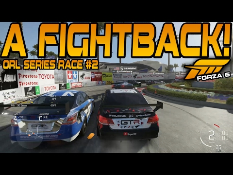Forza 6 ORL V8 SUPERCARS Round 1 - Long Beach (Race 2)