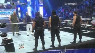 the shield confronts the wayatt fammilie