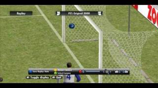 Own Goal by a GoalKeeper (PES2008)