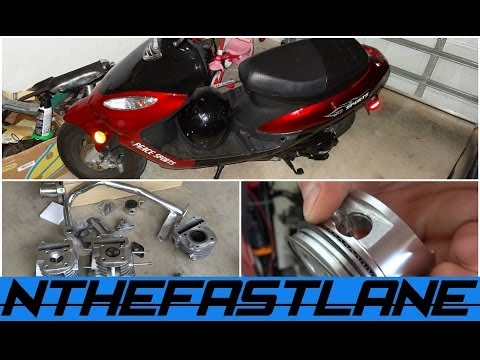 DIY Gy6 Scooter 50cc to 100cc Kit