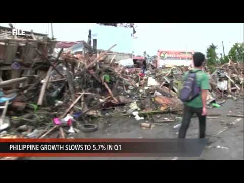 Philippine growth slows to 5.7 in Q1