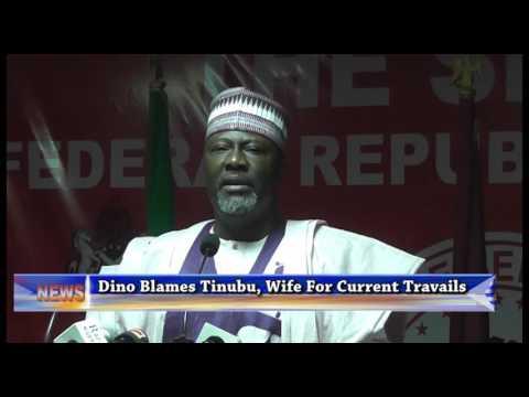 Senator Dino Melaye Blames Tinubu, Wife For Current Travails