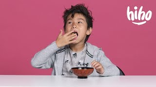 American Kids Try Snacks from Singapore & Malaysia | Kids Try | HiHo Kids