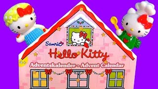 Hello Kitty Christmas Advent Calendar Surprise 2014 Calendario de Navidad ハローキティ プレイ  Toys