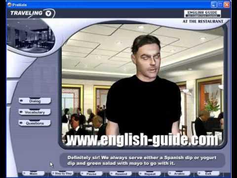 تعليم اللغة الإنجليزية محادثة المطعم Learn English