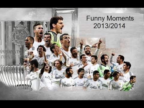 Real Madrid Funny Moments 2013/2014 HD