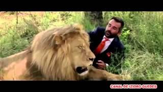 Futebol com leões