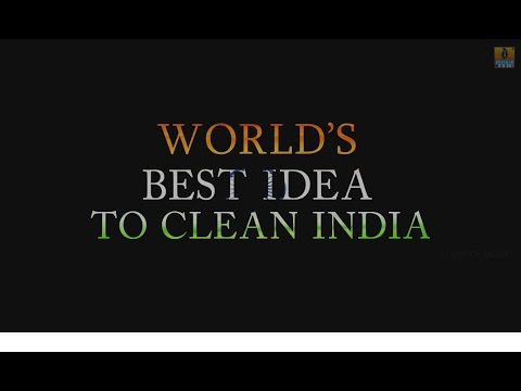Worlds Best Idea To Clean India I Swachh Bharat Abhiyan I Kannada Short  Movie
