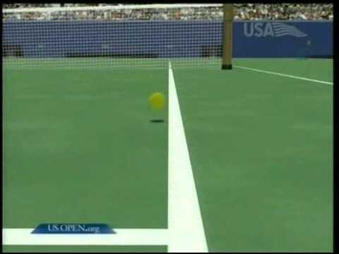 ロジャー フェデラー VS Andre アガシ -- 全米オープン 2004 ハイライト