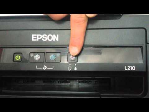 Reiniciar Niveles de Tinta en Epson L210 L100 L110 L300 L350 L355
