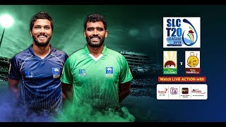 Colombo vs Dambulla – SLC T20 League 2018