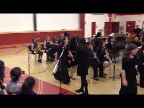 """La Serna High School Band Performs music from """"Chicago"""""""