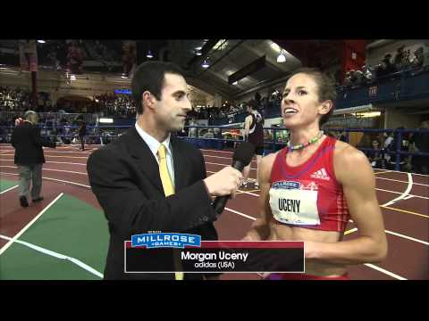 Morgan Uceny 800 Millrose Champ broadcast interview