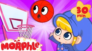 Magic Basketball - My Magic Pet Morphle | Cartoons For Kids | Morphle TV | Kids Videos