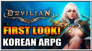 Devilian Gameplay First Look! - Awesome Korean ARPG!