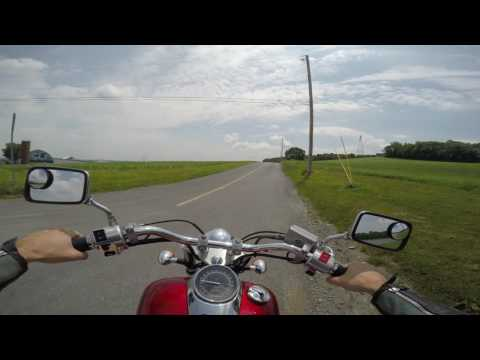 2008 honda shadow 750 test drive review