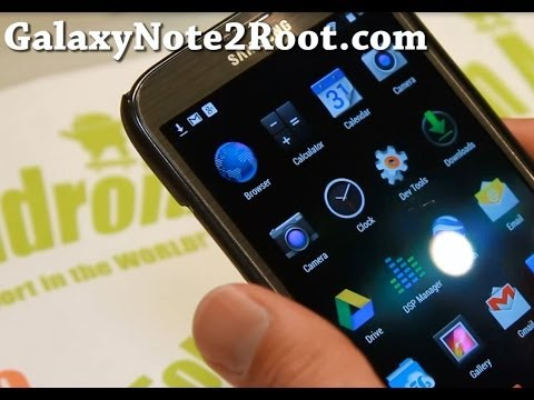 Omni ROM with Android 4.4 KitKat for Galaxy Note 2!