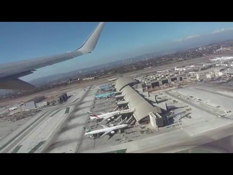 American Airlines B738 LAX - SFO (Sep 19/2014)