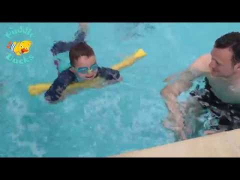 Puddle Ducks Dippers Swimming Tips: Short Woggles