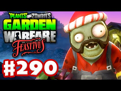 Plants vs. Zombies: Garden Warfare Gameplay Walkthrough Part 290 Feastivus Holiday Toque PC