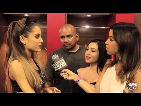 Ariana Grande Says Why She Wears Cat Ears
