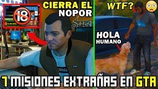 7 Misiones mas EXTRAÑAS de Grand Theft Auto (Top 7 Misiones GTA)