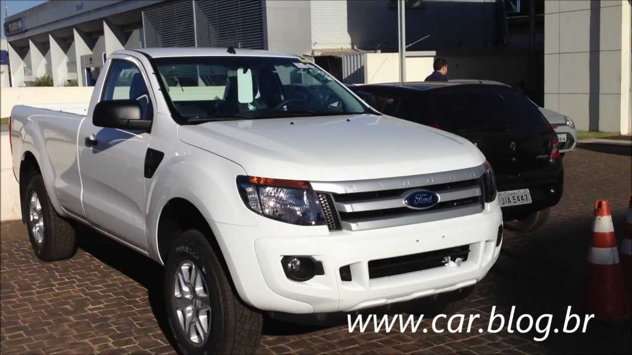 Ford Ranger Xls Cabine Simples 2013 Flex Youtube
