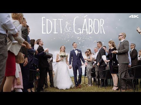 Edit & Gábor Esküvői Film - 2019. Hilltop Borhotel, Neszmély - 4K