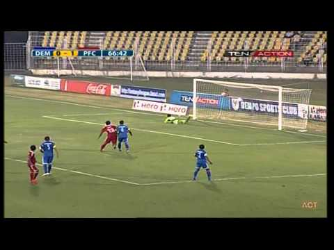 Hero I-League 2015 Dempo SC (1) vs Pune FC (2) 18-4-2015