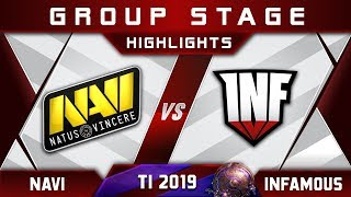 NaVi vs Infamous [EPIC] TI9 The International 2019 Highlights Dota 2