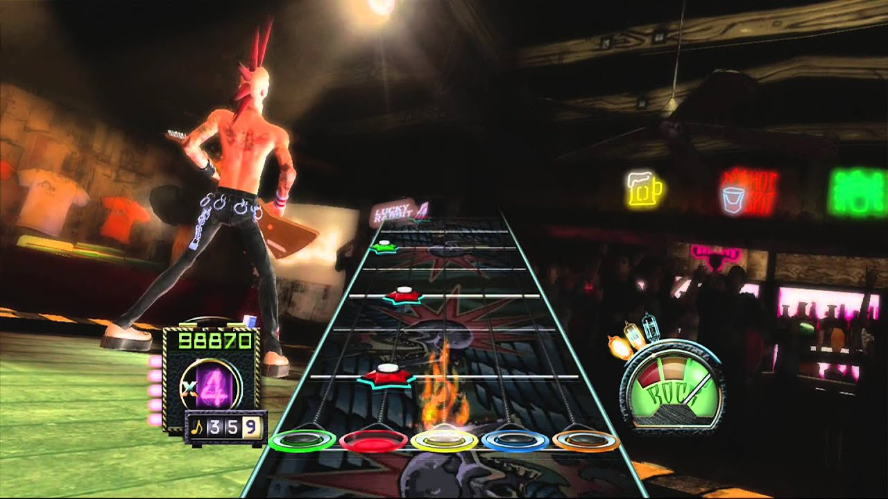 Which Guitar Hero Has Paint It Black