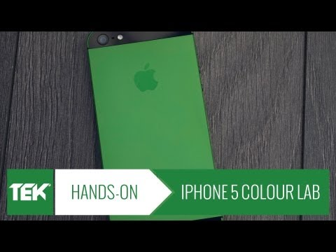 mendmyi iPhone 5 Colour Lab Conversion Green Hands On Review   TEKCORE UK