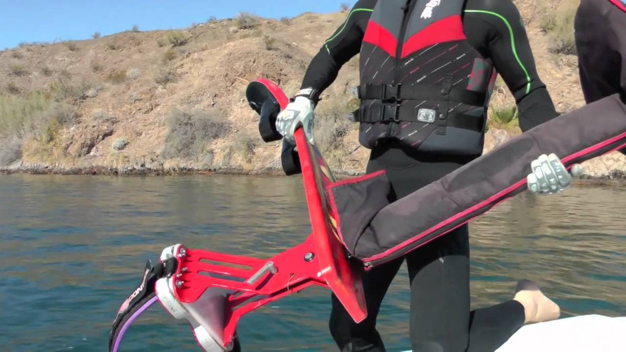 Sky Ski Air Chair Tips Handling From WATER To BOAT