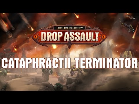Cataphractii Terminator Showcase | The Horus Heresy: Drop Assault - Warhammer 40,000
