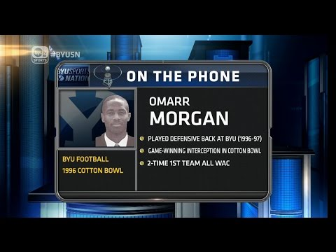 Omarr Morgan BYU Sports Nation Interview   June 22, 2015
