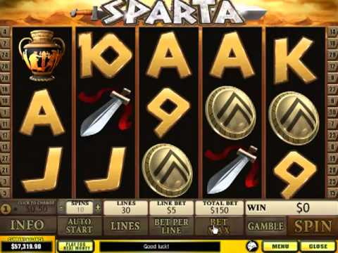 Sparta Slots video review by Online Keno