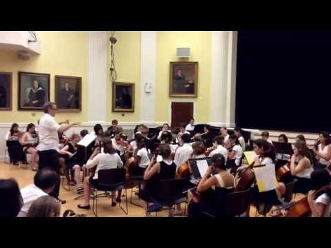 'Take Five' - Orchestra, Summer Interlude Concert, The Brearley School, June 21st, 2014 - 06/21/2014