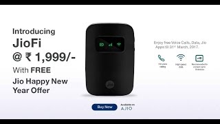 JioFi 3 WiFi Router Unboxing I Review I Setup .