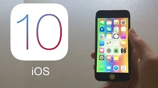 iOS 10 İnceleme (iPhone 5)