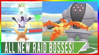 ALL NEW RAID BOSSES IN POKEMON GO! Registeel Released Plus Alolan Raichu, Alolan Marowak & Kirlia!