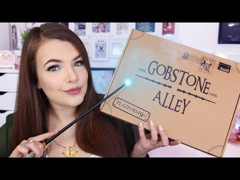 HARRY POTTER: GOBSTONE ALLEY UNBOXING MARCH 2018 | Cherry Wallis