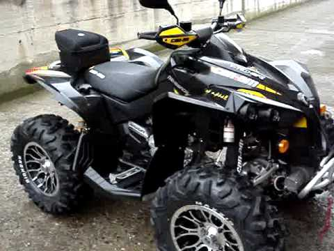 Can Am Renegade 800 X Youtube