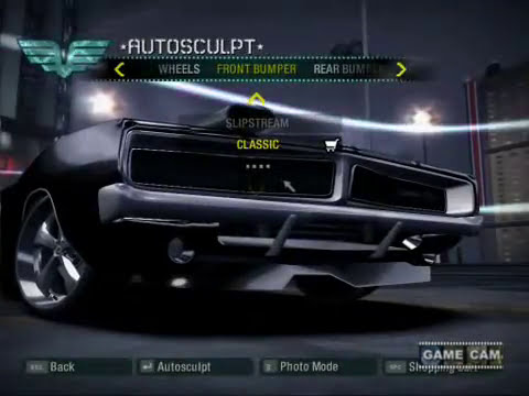 Need For Speed Carbon Dodge Charger Tuning