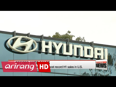 Hyundai Motor, Kia Motors post record H1 sales in U.S.