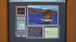 Apple Macintosh II (1987) Start Up and Demonstration